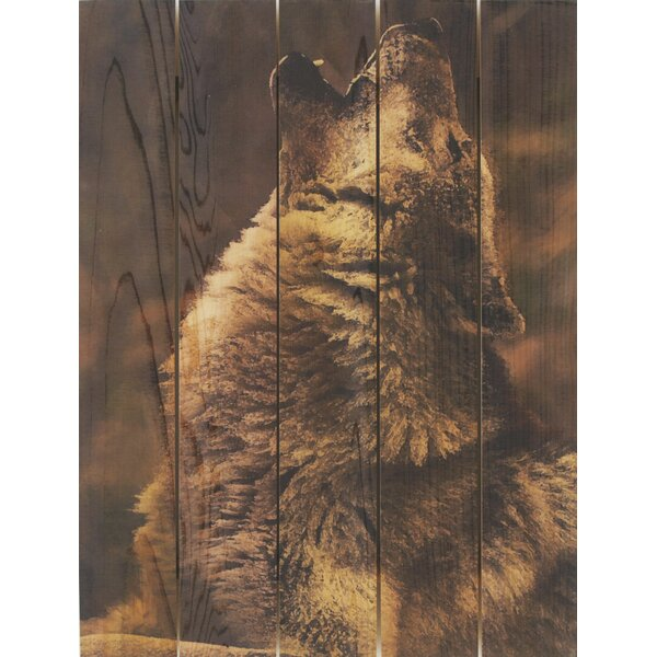 Crying Wolf Photographic Print by Gizaun Art