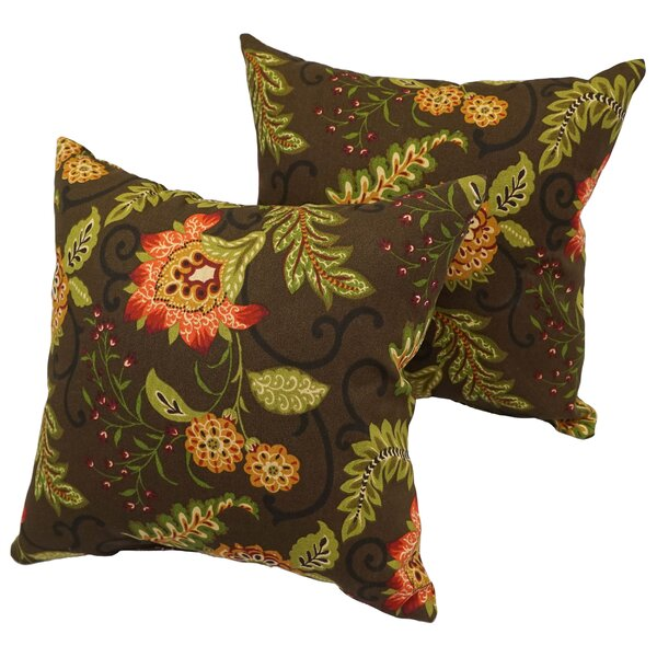 Bly Outdoor Throw Pillow (Set of 4) by Red Barrel Studio