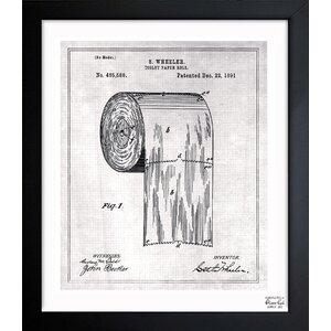 'Paper Roll 1891' Print by Trent Austin Design