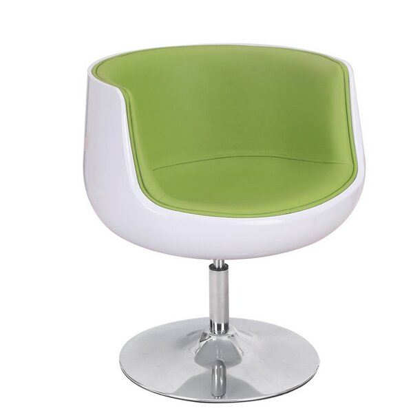 Swivel Barrel Chair by Adeco Trading