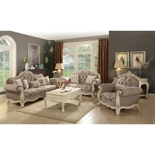 Boardwalk 3 Piece Living Room Set By Astoria Grand Reviews