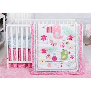 Inexpensive Dominika Tropical Tweets 3 Piece Crib Bedding Set ByHarriet Bee