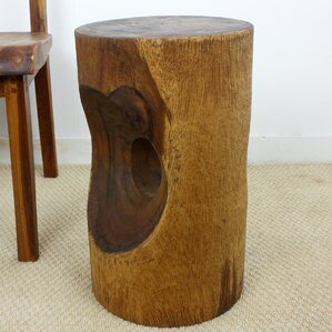 Peephole End Table by Strata Furniture