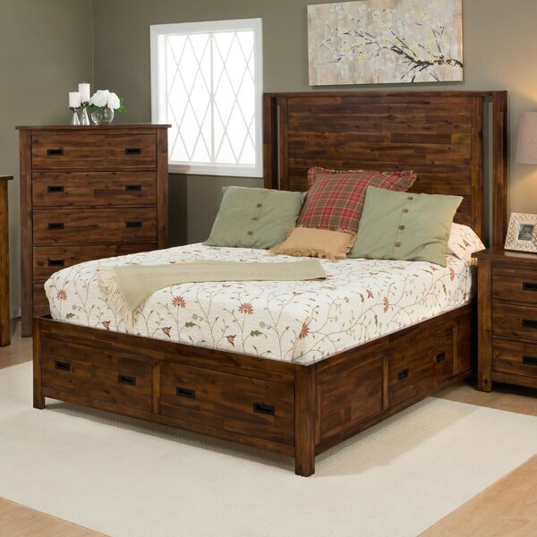 Whitfield King Panel Bed by Loon Peak