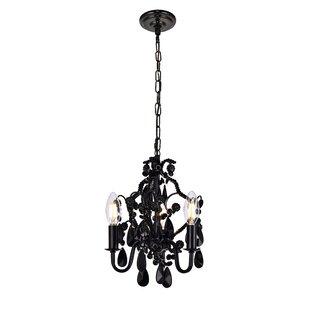 Black chandeliers youll love wayfair save aloadofball Choice Image