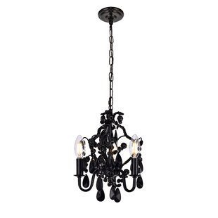 Mini or small chandeliers youll love cadmore 3 light mini chandelier aloadofball Choice Image
