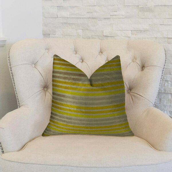 Fork Valley Handmade Throw Pillow by Plutus Brands
