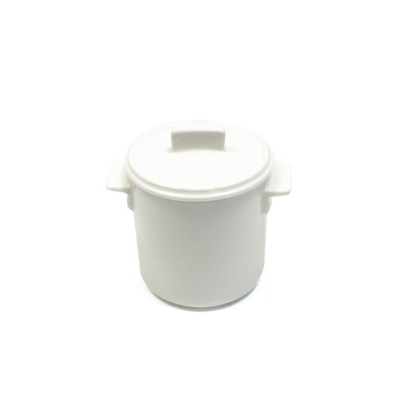 White Basics 4-oz Relish Pot with Lid by Maxwell & Williams