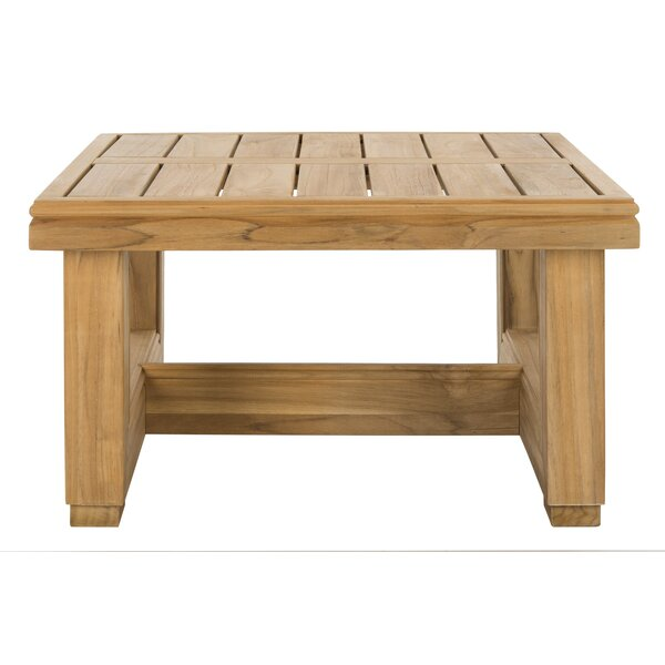 Lakeland Teak Side Table by Rosecliff Heights