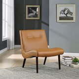 Faux Leather Slipper Accent Chairs You Ll Love In 2021 Wayfair