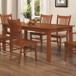 Affordable Price Venable Mission Style Solid Wood Dining Table By Millwood Pines