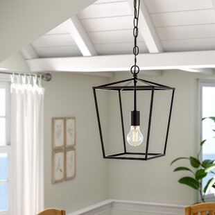 Savings Sennett 1-Light Geometric Pendant By Gracie Oaks