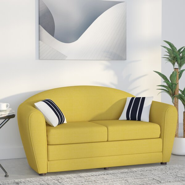 Wurley Sleeper Loveseat by Wade Logan