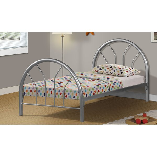 Twin Bed by Monarch Specialties Inc.