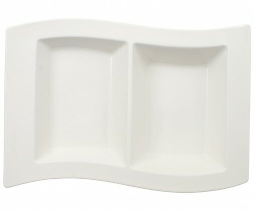 New Wave 2 Compartment Platter by Villeroy & Boch