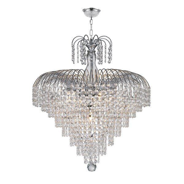 Brimpton 2 Tier 10-Light Chandelier by Rosdorf Park