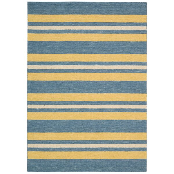 Oxford Handmade Blue/Yellow Area Rug by Barclay Butera