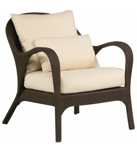Bali Patio Chair with Cushions by Woodard
