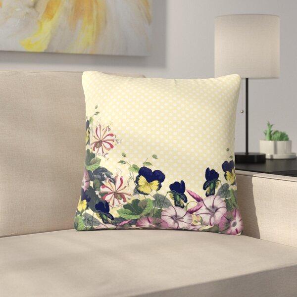 Alison Coxon Polka Dot Outdoor Throw Pillow by East Urban Home