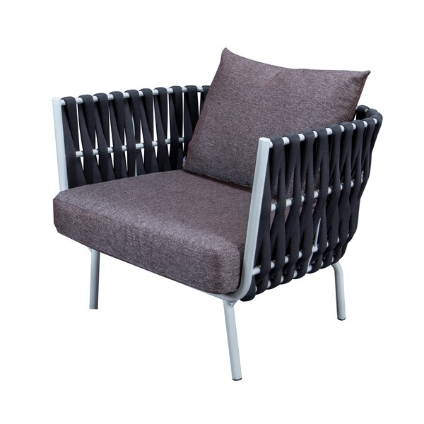 Gavin Patio Chair with Cushions by Rosecliff Heights