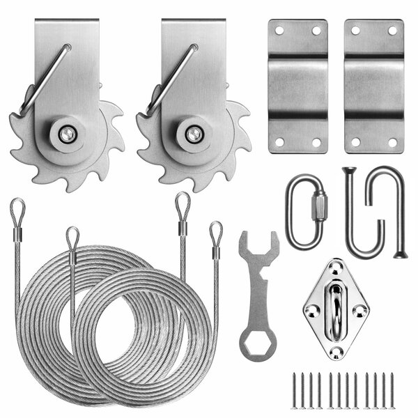 Colourtree Tensioning Winch 4 Triangle Installation Kit Reviews Wayfair