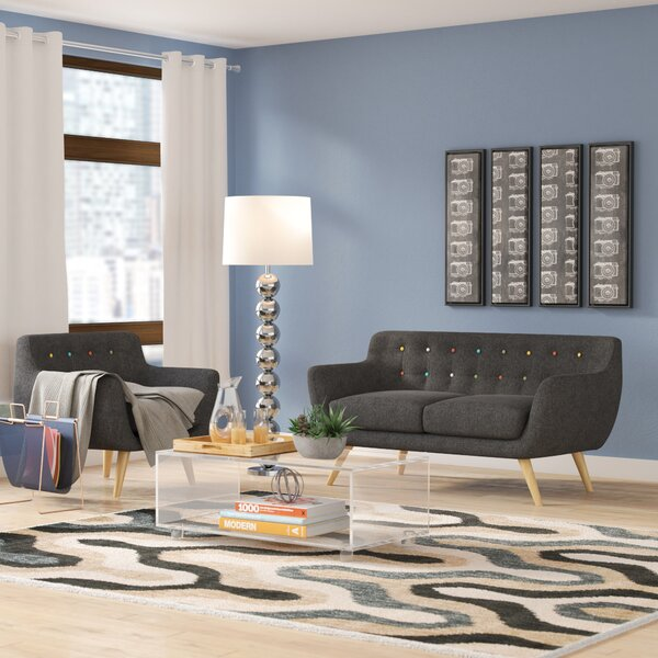 Meggie 2 Piece Living Room Set by Langley Street