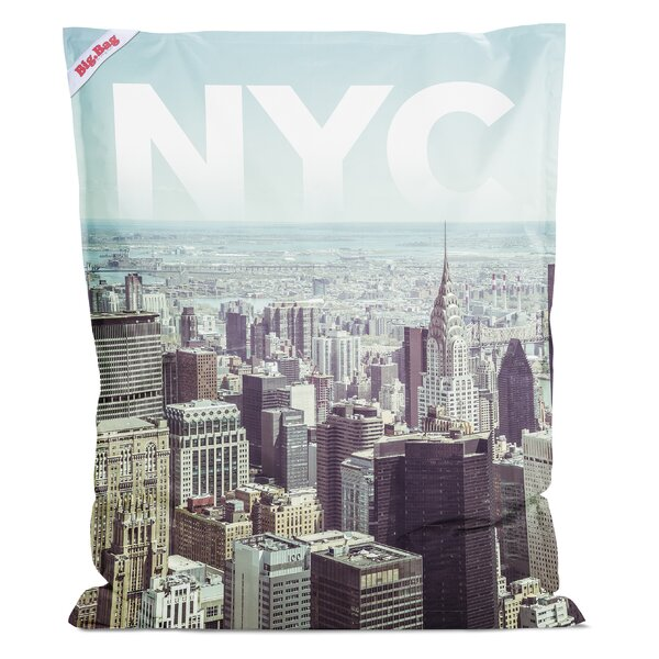NYC Bean Bag Chair by Latitude Run