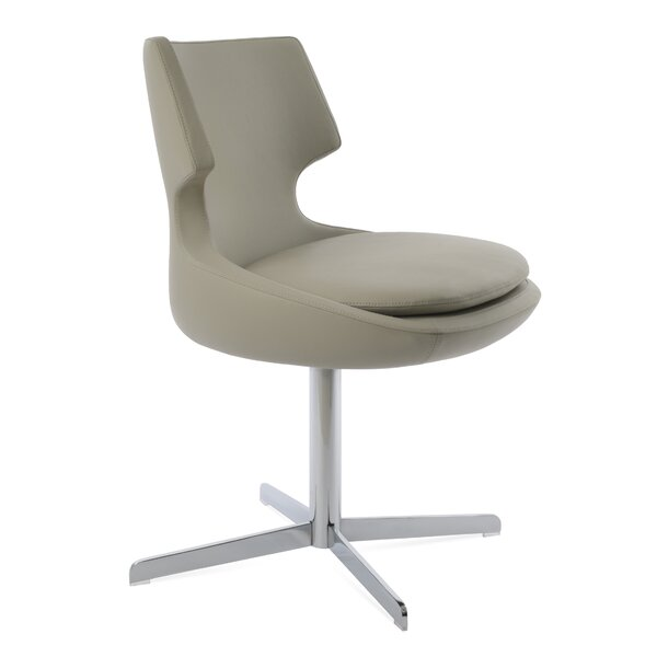 Patara Genuine Leather Upholstered Dining Chair by sohoConcept sohoConcept
