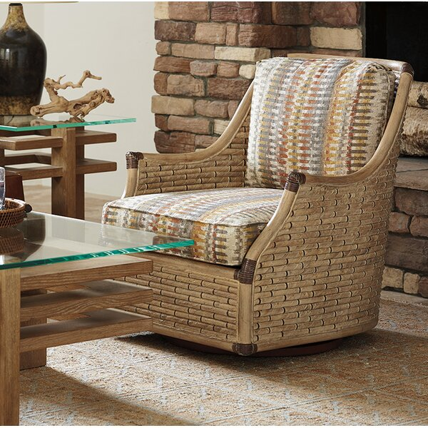 Los Altos Swivel Barrel Chair by Tommy Bahama Home Tommy Bahama Home
