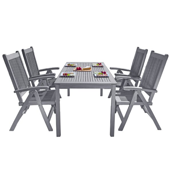 Drees 5 Piece Dining Set by Darby Home Co