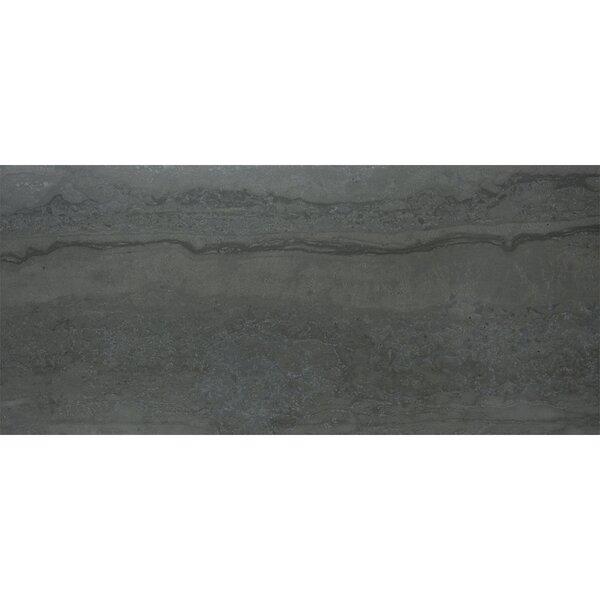 Nova 12 x 24 Porcelain Field Tile in Dark Gray by Madrid Ceramics