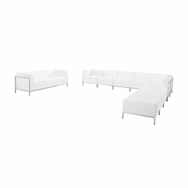 Keira Configuration Modular Sectional with Ottoman by Orren Ellis