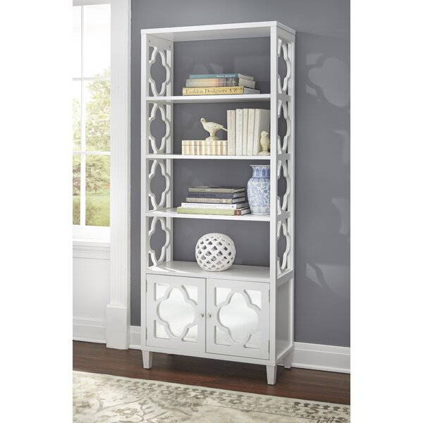 Cameron Etagere Bookcase by Bungalow Rose
