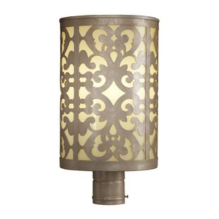 Reviews Concetta Outdoor 1-Light Lantern Head By Fleur De Lis Living