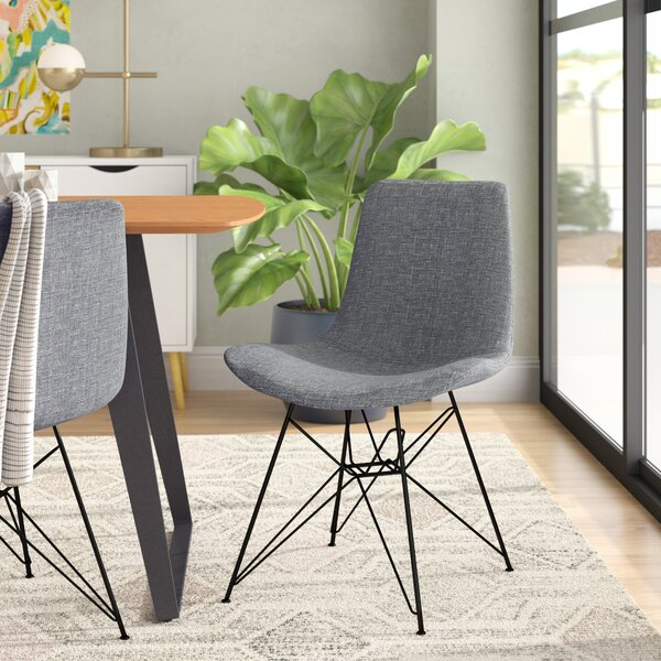 Abdera Upholstered Dining Chair by Wrought Studio
