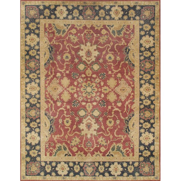 Sultanabad Traditional Lamb's Wool Area Rug