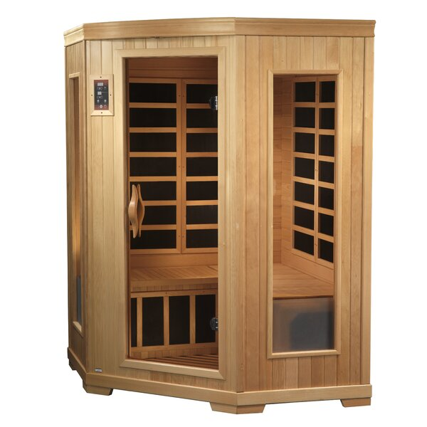 Grand 3 Person FAR Infrared Sauna by Dynamic Infrared