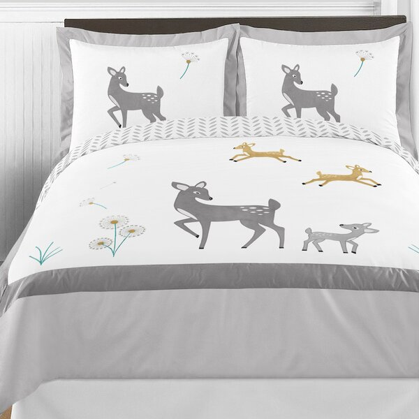 Forest Deer Comforter Collection by Sweet Jojo Designs