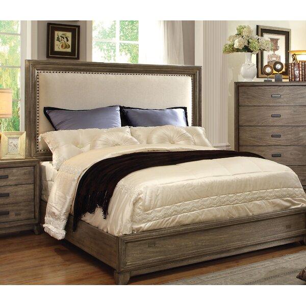 Karla Upholstered Standard Bed by Hokku Designs