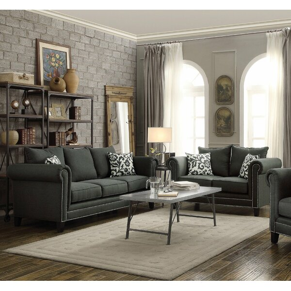 Rosemary 2 Piece Living Room Set by Infini Furnishings