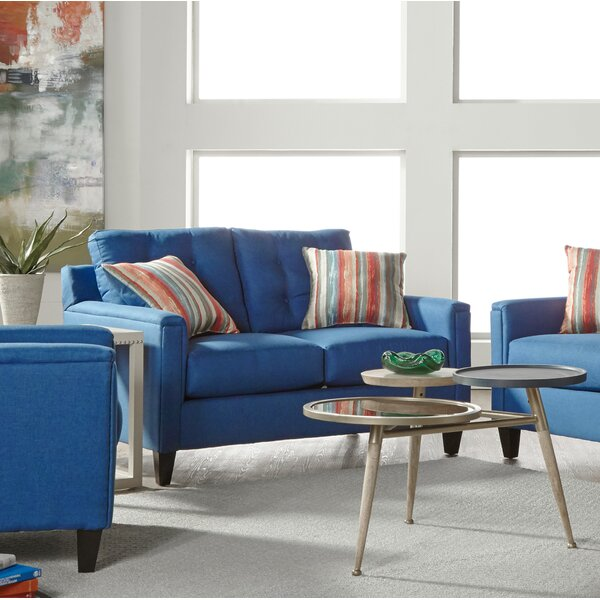 Classy Tiradentes Loveseat by Latitude Run by Latitude Run