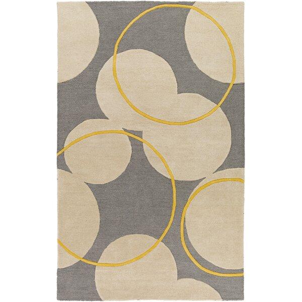 Labarbera Hand-Tufted Gray/Beige Area Rug by Latitude Run