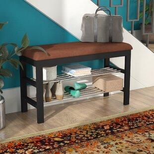 Schantz Wood Storage Bench