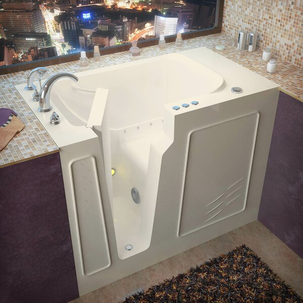 Flagstaff 52 x 29 Walk-In Air Jetted Bathtub by Therapeutic Tubs