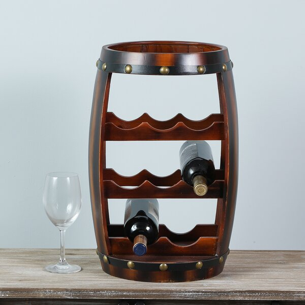 Dickinson 8 Bottle Floor Wine Bottle Rack by Millwood Pines Millwood Pines