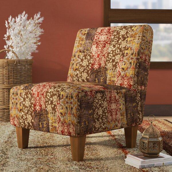 Zoe Armless Slipper Chair by Mistana