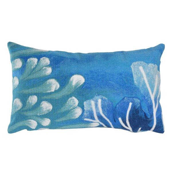 Tantallon Reef Indoor/Outdoor Lumbar Pillow by Bay Isle Home