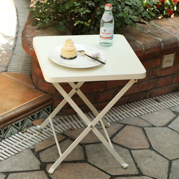 Whitlow Folding Metal Bistro Table by Ebern Designs
