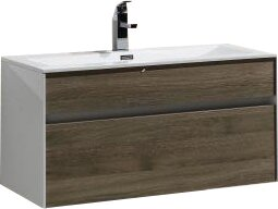 Brockman 36 Single Bathroom Vanity Set by Wade Logan