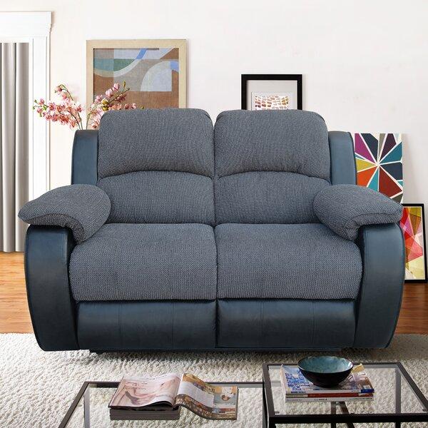 New Design Prospect Heights Reclining Loveseat by Red Barrel Studio by Red Barrel Studio
